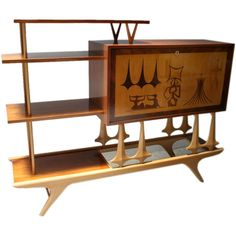 "1960s ""Brasilia"" Bar 