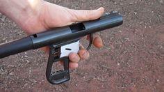 Shooting Homemade Pistol