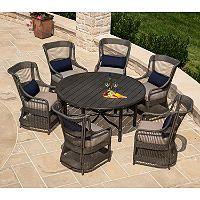 La-Z-Boy Outdoor Juliette 7 pc. Patio Dining Set with Premium Sunbrella® Fabric - Sam's Club