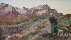 Segantini Le due Madri - Divisionismo (pittura) - Wikipedia