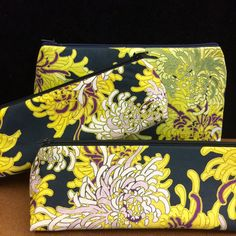 Commissioned by Singapore - peony pouch