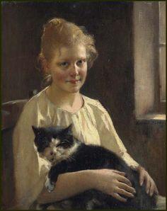 Maxime Dastugue (French, 1851-1909) - Best Friends