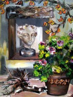 El jardin del Fauno Oleo/lienzo 73x60