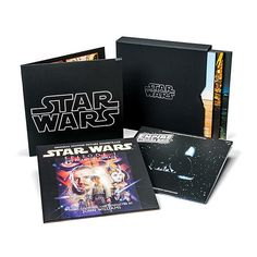 Star Wars - The Ultimate Vinyl Collection - The Ultimate Way to Listen to Star Wars Music! Star Wars Wedding, Geek Wedding, Wedding Dj, Wedding Hair, Wedding Ideas, Star Wars Song, Star Wars Music, Star Wars Gadgets, Cuadros Star Wars
