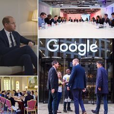 The Duke Of Cambridge Has Visited Google HQ For The Final Meeting Of The Cyberbullying Taskforce  via ✨ @padgram ✨(http://dl.padgram.com)