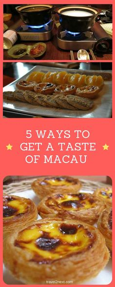 5 ways to get a taste of Macau food. Strolling through Macau's historic Red Market, the smell of ginger and chili peppers has tears streaming from my eyes.