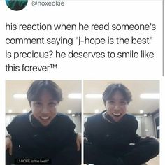 Yes he truly does! If you are there to spread hate then please leave and go love yourself. This ball of sunshine truly deserves to smile and be happy along with all the other boys.