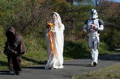 DSC_2188 by AndiLani, via Flickr www.inasweetcloud.com #starwars #wedding