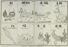 Japanese and Chinese chimeras.