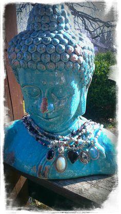 BuddhaStyleKollektion       * made with love * amethyst*bergkristall*achat
