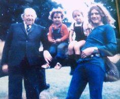 robert-youheartbreaker:  Robert's Grandfather, Karac, Carmen and Robert Plant