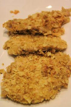 MAMMA MIA QUANTE RICETTE: Petto di pollo in crosta di patatine Chips