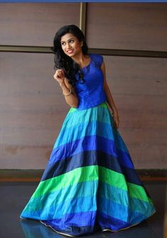 Indian Gowns, Indian Wear, Indian Outfits, Party Wear Dresses, Bridal Dresses, Girls Dresses, Long Gown Dress, Dress Skirt, Long Skirt And Top