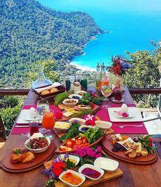 The Luxury Universe #breakfast #turkishbreakfast #fethiye