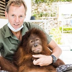Meet the Man Who is Helping Save Imperiled Orangutans With Nothing More Than a…