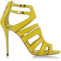 Le Silla Sandals ($950) via Polyvore