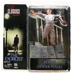 "Neca Cult Classics Serie 7 - The Exorcist ""Regan - Spider-Walk"""