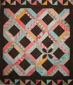 Crazy Old Ladies Quilts: Tiger Lily