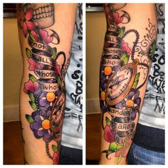 #tattoo #quote #arm  tattoo done by Celeste Nist @ luxury tattoos :)