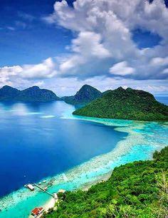 Sabah, Malasia #paradise #heaven #healing                                                                                                                                                                                 Más