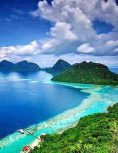Sabah, Malaysia.Dream tropical vacations