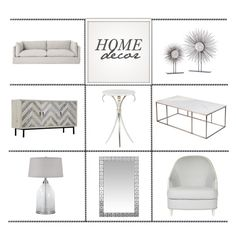 """White & Light Home Decor"" by kathykuohome ❤ liked on Polyvore featuring interior, interiors, interior design, home, home decor, interior decorating, Neha, Seaton, Avery and white"