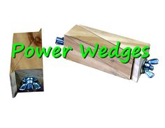Try these wedges for extra power when clamping