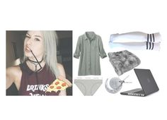 """""""OOTN -Zoe"""" by aliceintoxicland ❤ liked on Polyvore featuring Calvin Klein Underwear, Speck and Tattly"""