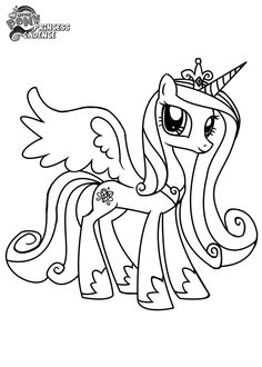http://colorings.co/my-little-pony-coloring-pages-princess-cadence/ #Cadence, #Coloring, #Pages, #Pony, #Princess