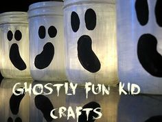 Have some ghostly fun with these Halloween kid's crafts! #halloweencrafts #hopeforjavier (http://www.hopeforjavier.org/)