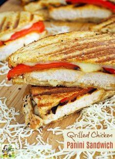 Looking for new gril Looking for new grilled chicken meal ideas...  Looking for new gril Looking for new grilled chicken meal ideas for easy weeknight dinners? Click to get this Grilled Chicken Panini Sandwich recipe. Recipe : http://ift.tt/1hGiZgA And @ItsNutella  http://ift.tt/2v8iUYW