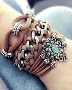 Kit Fendel - Beth Souza Acessórios, pulseirismo verão 2017, bijoux boho style…