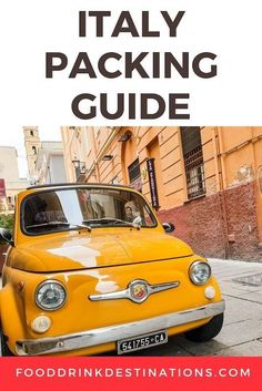 Italy Packing List And Guide: After 20 years of travel to Italy, we've created our list of what to pack for Italy, and what you can skip Italy Packing List, Packing For Europe, Travel Essentials, Travel Tips, Food Travel, Weather In Italy, Italy Destinations, Travel Umbrella, Italy Tours