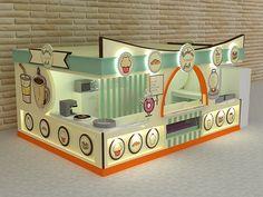 Evolution fast-food kiosk