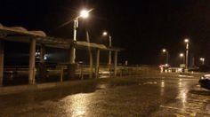 本日の定期船は三池港に入港。 現在雨で雷も光ってます。