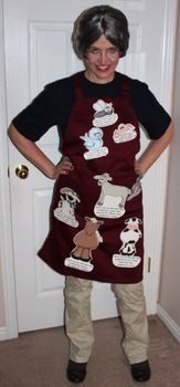 Old Lady who swallowed a fly Halloween Costume