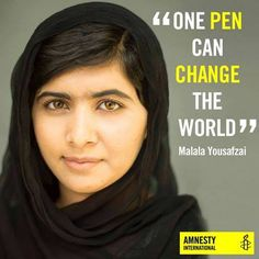 malala one pen can change the world