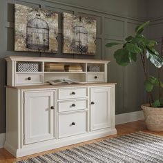 That Furniture Outlet - Minnesota's #1 Furniture Outlet. We have exceptionally low everyday prices in a very relaxed shopping atmosphere. Ashley Sarvanny Two Tone Credenza thatfurnitureoutlet.com #thatfurnitureoutlet  #thatfurniture  High Quality. Tremendous Selection. Exceptional Prices.