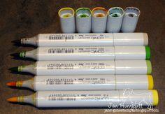 Copic Marker Maintenance
