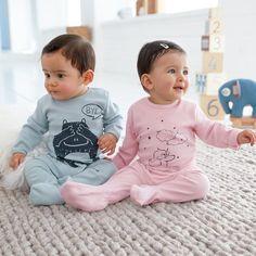 Petits pyjamas bébés trop craquants. Pour petites filles, et petits garçons.