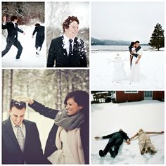 Let It Snow! on itsabrideslife.com / Winter Wedding / Winter Wedding Photos / Winter Wedding Ideas