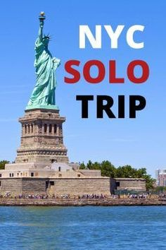 Solo travel to New York City | Find the best things to do on your solo trip to NYC | Fun things to do in New York on your own | What to do while visiting NYC by yourself | Map of attractions in NYC included so you can plan your solo travel adventure to the Big Apple | #solotravel #NewYork #NYCtravel #Manhattan #USAtravel #NYCsolo