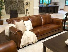 Aniline leather