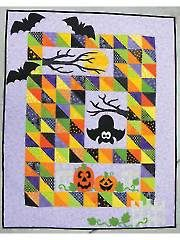 Scaredy Bat Quilt Pattern from Annie's Craft Store. Order here: https://www.anniescatalog.com/detail.html?prod_id=125771&cat_id=1430