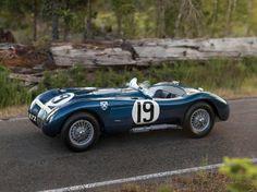 1953 Jaguar C-type Lightweight. Introduced in the Jaguar C-type was developed for the singular purpose of delivering a victory at Le Mans. Jaguar C Type, Jaguar Cars, Most Expensive Luxury Cars, Automobile, Jaguar Xk120, Pebble Beach Concours, Sports Car Racing, Auto Racing, Sport Cars