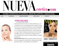 #Lifting con Hilos Tensores en Nueva Estética  http://www.nuevaestetica.com/lifting-con-hilos/