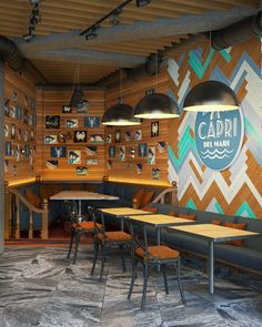 The cafe Capri , 2016 - Elena Ponomarenko Vitta-Group