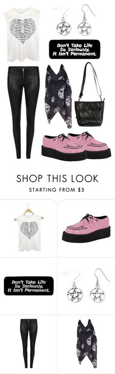 """""""Rocker Chic"""" by rebelsmarket-0 ❤ liked on Polyvore featuring T.U.K."""