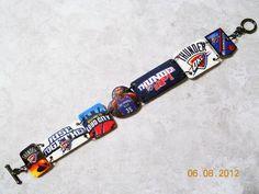OKC Thunder Bracelet. $20.00, via Etsy.