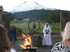 Fire, Stones, and Pahto - White Mountain Druid Sanctuary Complex